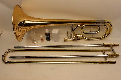 Used, Yamaha BASS Trombone YBL421 G INTERMEDIATE with F Trigger and Case FAST SHIPPING for sale  Phoenix