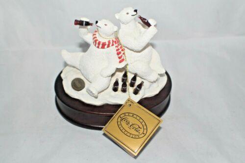 Vintage 1994 Coke Heritage Collection Polar Bear Musical