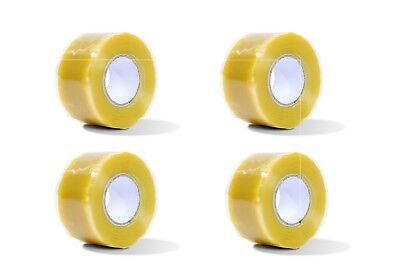4pcs Silicone Tape Self Fusing Plumber Electritions Pipe Repair Hose Leak Yellow