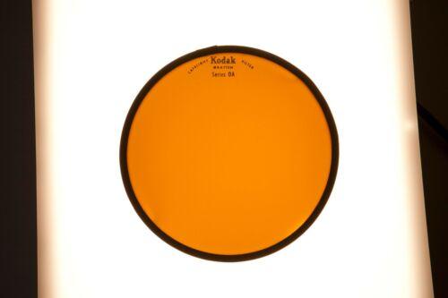 "Kodak 5.5"" Orange Wratten Safeflight Filter Series 0A  for Darkroom"