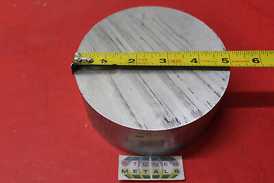 5 Aluminum 6061 Round Rod 2 Long T6511 Solid Extruded Lathe Bar Stock 5 Od