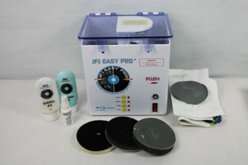 Easy Pro Disc Repair Machine Remove Scratches CD DVD Video Games Used