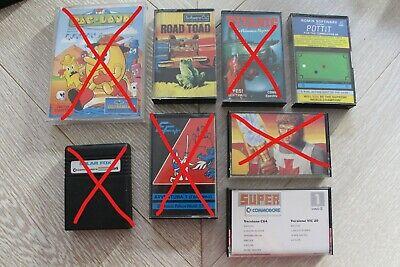 Giochi/videogiochi per Commodore 64 (prezzo al pezzo, lista nella descrizione)