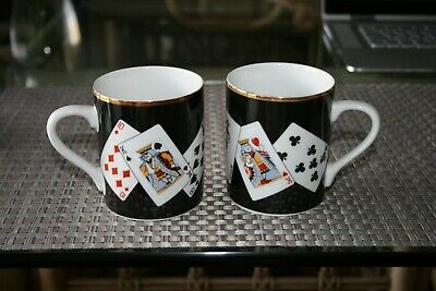 Tiffany Themed Party (TIFFANY & COMPANY CERAMIC COFFEE CUP PAIR, PLAYING CARD)