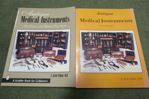 2 books,  Antique Medical Instruments & tools w/ Price Guide  by Keith Wilbur