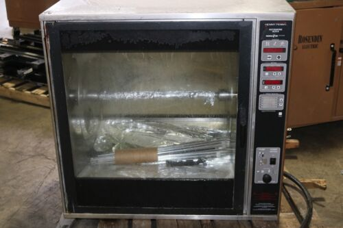 Electric Rotisserie Rotating Oven Henny Penny SCR-8  208V 3PH