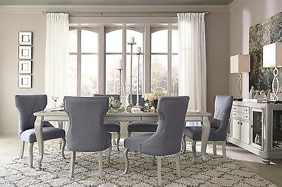 Ashley Coralayne Glitz n Glam 7 Piece Dining Set Furniture D650 ()