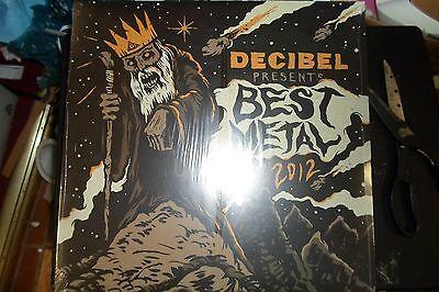 DECIBEL BEST METAL of 2012 Heavy Metal Promo LP Kreator Testament MINT