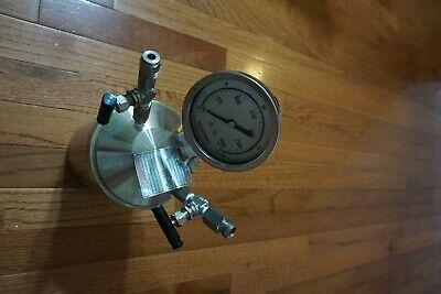Parr Instrument 599hc T316 062106 Reactor Pressure Vessel 3000 Psi Maxwp