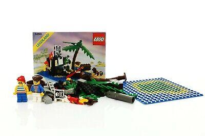 Lego Pirates I Set 6260 Shipwreck Island 100% complete+instructions vintage 1989