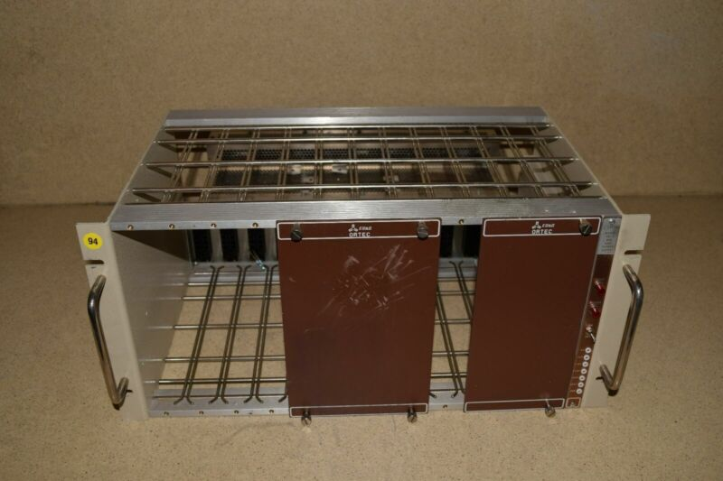 EG&G ORTEC BNC MODEL TB-4 BIN & POWER SUPPLY MODEL 402D (#3)