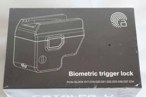New Biometric Fingerprint Trigger Lock Handgun DOJ Approved FOR GLOCK NEW in Box