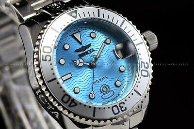 Invicta 38mm Grand Diver Ocean Voyage Limited Ed Aqua Blue 300M Automatic Watch