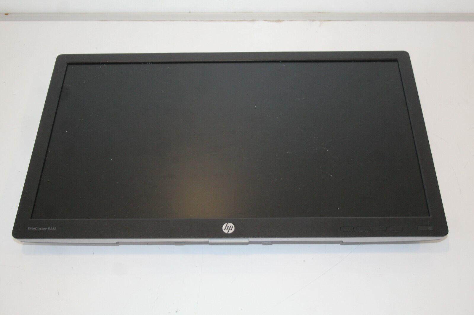 """HP EliteDisplay E232 LED Monitor Full HD 1080p 23"""" No Stand"""