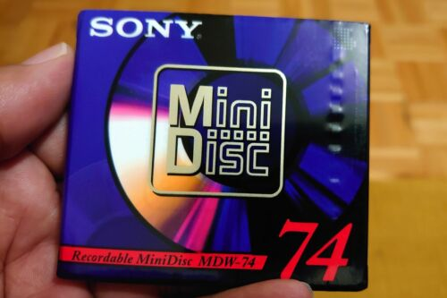 Sony Mini Disc set of 4 (MDW-74A) Digital Audio MiniDisc
