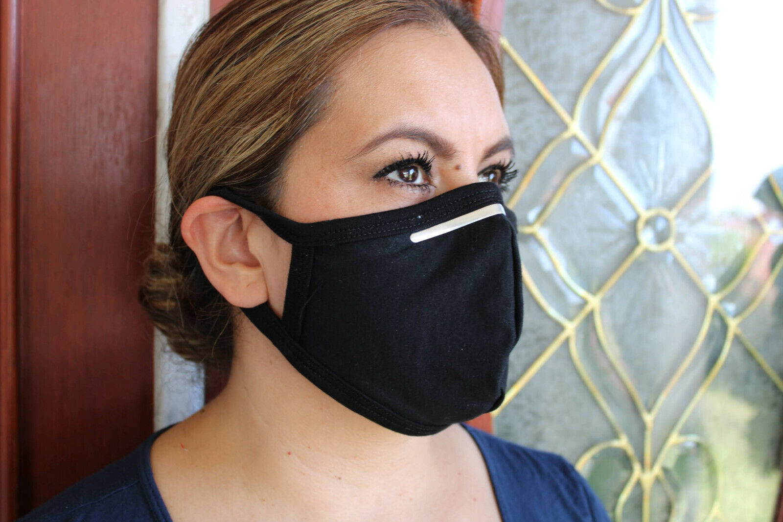 667 Face Mask With Nose Wire Los Angeles Dodgers Baseball Face Cover REUSABLE