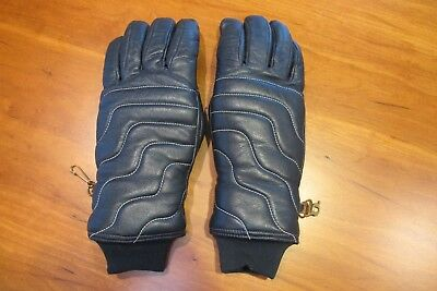 3ef197225 Vintage 1970's GRANDOE Women Leather Ski Gloves Small Size A 6-7 Excellent