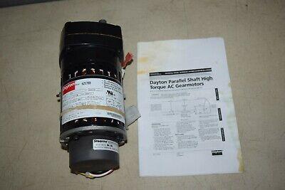 Dayton Ac Gear Motor 6z078b 115v 32 Rpm Gearmotor