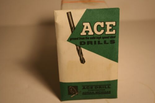 Ace Drill Corp 12-PACK Twist Wire # 49 Drill Bright Finish 302849 No. 49