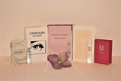 5 Women's Perfume Samples: Ralph Lauren Romane, Chloe, Calvin Klein + More