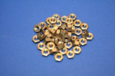 Muttern 50 Stück Messing M3,5 SW 6 Trix Baukasten Sechskannt M 3,5