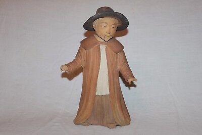 Antique Terracotta Asiatique. Character