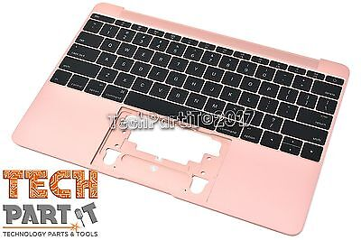 "12"" Rose Gold MacBook Retina Early 2016 Palm-Rest Top Case Keyboard Mic A1534 'B"