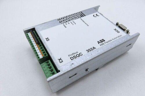 ABB DSQC 352A IRC5 Controller Profibus Module (PN 3HNE 00009-1/12)
