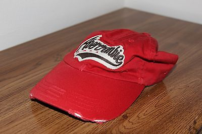 Abercrombie and Fitch Unisex Hat - Red