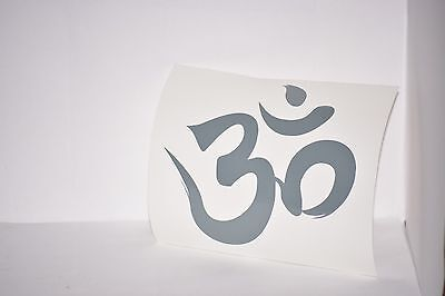 Om Symbol Vinyl Car Laptop iPad Mac Tablet Decal Sticker Choose Color Yoga