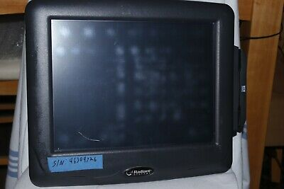 Radiant Systems Ncr P1515 Pos Touch Screen Terminal Aloha With Card Reader