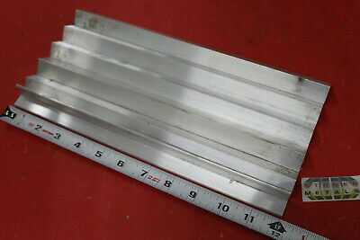 6 Pieces 34 X 34 X 18 Aluminum 6061 Angle Bar 12 Long T6 Mill Stock