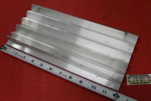 "6 Pieces 3/4"" x 3/4"" x 1/8"" ALUMINUM 6061 ANGLE BAR 12"" long T6 Mill Stock"