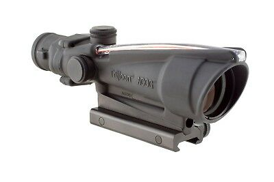 Trijicon ACOG 3.5x35 Dual Ill Scope w/ Mount, Red Crosshair .308 Reticle 100159