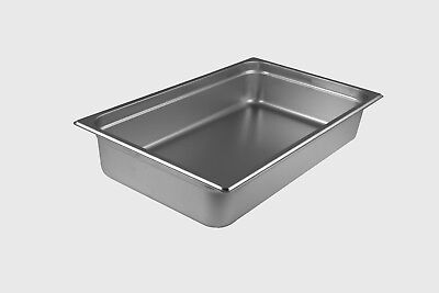 Starkcook Steam Table Pan Stainless Steel Full Size Stpf224