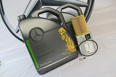 Genuine Mercedes-Benz C-Class E-Class 300/350 CDI Oil Filter & Engine Oil M642
