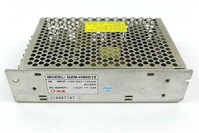 264v Switch - GZM-H60S12 Switch Power Supply Driver 176V-264V/1.5A Max 50/60 Hz +12.0V 5.0A