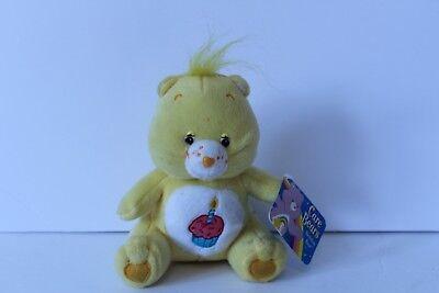 Nanco Care Bears Yellow Birthday Cupcake Bear Plush Stuffed Toy Animal 7