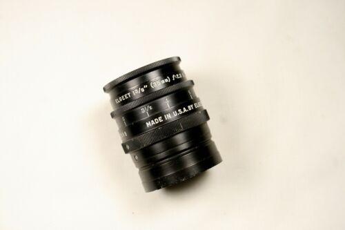 Vintage Elgeet 35mm f/2.3 Anastigman Lens Eyemo Mount