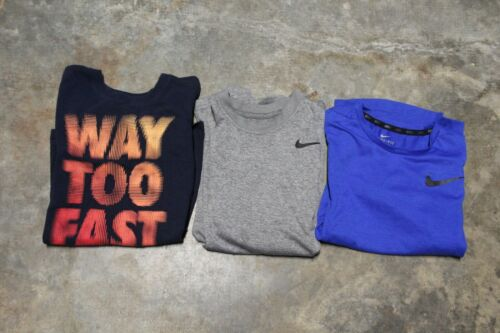 LOT of 3 Boys Youth Nike T-SHIRTS  YM