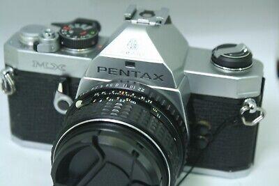 Pentax Mx 35mm SLR Film Camera with 50 mm lens   1.4 Kit