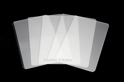 5 Mil Business Card Laminating Pouches 2-14 X 3-34 200 Pcs Laminator Sleeve