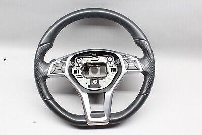 2012-2014 Mercedes Benz C Class C250 C300 Steering Wheel Sport Black OEM USED