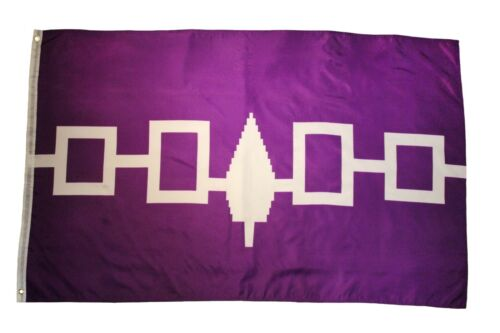 IROQUOIS Purple FIRST NATIONS Large 3