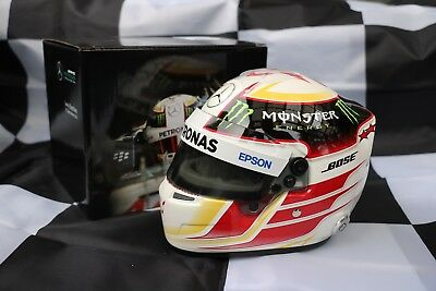 Lewis Hamilton 2015 1:2 Scale Mercedes AMG F1 Helmet World Champion Replica for sale  Shipping to Ireland