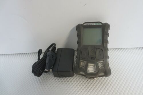 MSA altair 4X multigas Gas Monitor detector O2 H2S CO LEL Charger Included