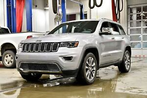 2018 Jeep Grand Cherokee LIMITED * 2018 * TOIT PANO * BANCS VENT