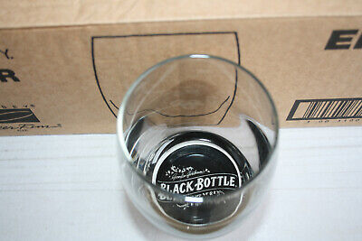 6 Gordon Graham's Black-Bottle Whiskey-Gläser 355