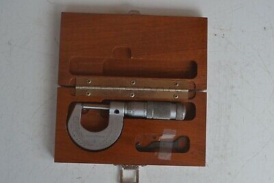 Brown And Sharpe 0-1 Micrometer With Case
