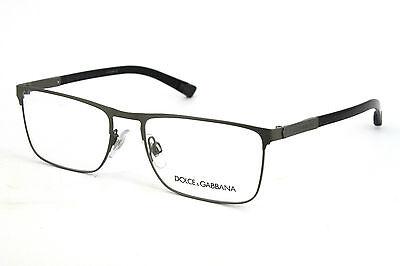 Dolce&Gabbana Damen Herren Brillenfassung  DG1259 1108 55mm silber 356 10